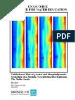 model calibration on morphological revolution