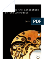 Dread In The Literature Of The Anonymous by Josh Shachar