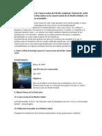 Plan Estratégico para la Conservación del Medio Ambiente Natural de Aichi