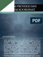 Materi 8 Sistem Proyeksi Dan Sistem Koordinat