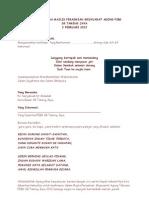 Teks Pengacara Majlis Perasmian Mesyuarat Agong Pibg