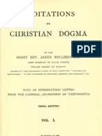 James Bellord, Meditations on Christian Dogma, 1906