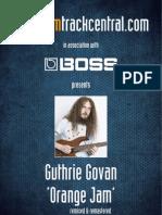 Guthrie Govan - Orange Jam