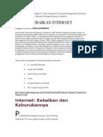 Kebaikan Internet