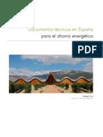 Documentos Tecnicos en Espana Para El Ahorro Energetico