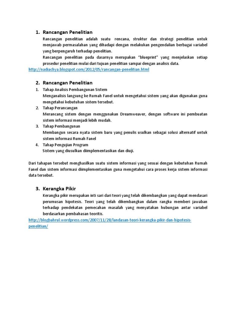 Rancangan penelitian malvernweather Choice Image