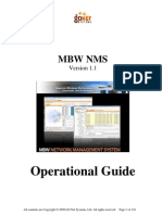 GoNet MBW NMS 1.1 Operational Guide