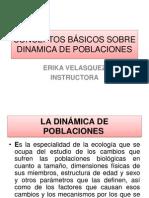 CONCEPTOS BÁSICOS SOBRE DINAMICA DE POBLACIONES