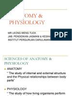 Anatomy & Physiology-Intro