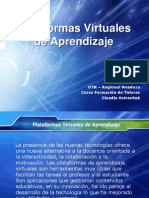 plataformasvirtualesdeaprendizaje-110926224832-phpapp01