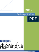 AIESEC Alexandria Exchange Booklet 2012