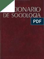 Diccionario de Sociologia, Vol i
