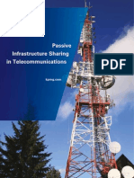Passive Infrastructure Sharing in Telecommunications