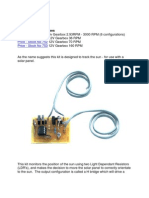 Solar Tracking Kit