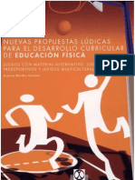 Nuevas propuestas lùdicas para el desarrollo curricular de la EF