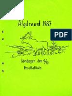 Resultatlista Älgdrevet 1987-10-04