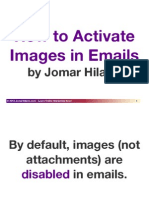 How to Activate Images in Your Email by Jomar Hilario