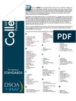 DSOA Jazz - Sophomore Standards List