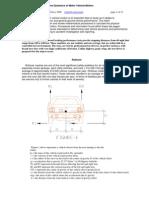 Automotive Dynamics of Vehicle Motion 4 2008