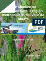 Plan Maestro de Movilidad Para La Region Metropolitana Del Valle de Aburra