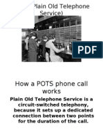 Telephone options today