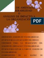 ANÁLISIS DE AMENAZAS Y VULNERABILIDAD