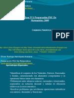 Clase N°1 PSU De Matemática - Conjuntos Númericos