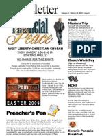 Church Newsletter March 2009 (02)