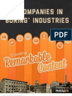 16 Companies in Boring Industries Creating Remarkable Content