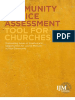 Community Justice Assessment Tool