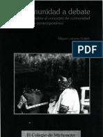 Las Comunidades Corporadas Del Sur Del DF_2009