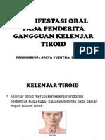 Manifestasi Oral