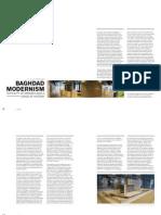 Baghdad Modernism Amin Al Saden Pages