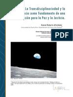 3LG. La Transdisciplinaridad y La Ciencias Como Fundamento Para La Paz y La Justicia ALTSCHULER DANIEL