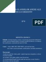 Lp 4 - Patologia Glandelor Anexe Ale Tubului Digestiv