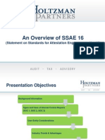 An Overview of SSAE 16