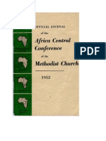 Africa Central Conference of the Methodist Church 1952
