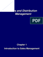 Chap 1sales and management