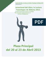 2º Festival Internacional del Libro, la Lectura