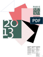 Calendrier Expositions 2013 Paris Musees