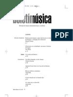 Boletin Musica