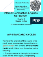 Engine Cycles Chapter3