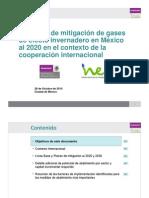 Potencial Mitigacion GEI Mexico 2020 COP 3 - Version Resumida