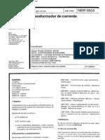 NBR 6856 - Transformador de Corrente