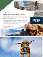 Adventure Canada 2014 Arctic Explorer