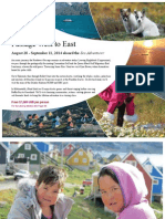 Adventure Canada 2014 Northwest Passage West to East