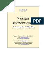 D. Hume - Sept_essais_economiques