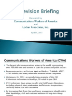 CWA-CVC Investor Briefing Presentation 4-15-13