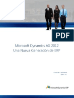 Microsoft Dynamics AX 2012 Whitepaper Spanish