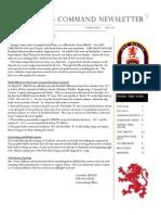April 2013 Newletter